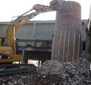 Demolizione Fabbricati ad Uso Cartiera – 2012